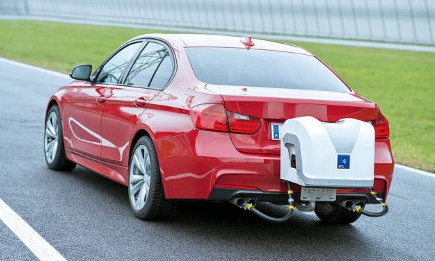 Nå skal biler utslippstestes på vanlig vei