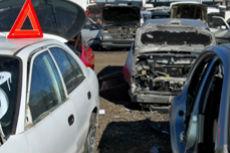 Fortsatt høy vraking:  Liten nedgang i antall vrakbiler i 2014