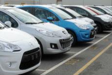 Bilsalget i april 2013
