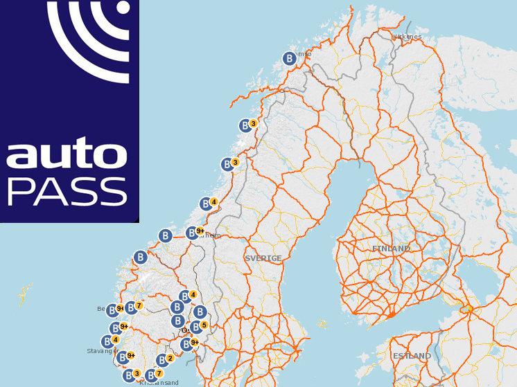 Fra og med 1. januar 2015 er det obligatorisk for alle kjøretøy over 3,5 tonn i næring å ha bombrikke i Norge.