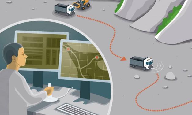 Førerløse lastebiler finner du snart på en vei i nærheten av deg