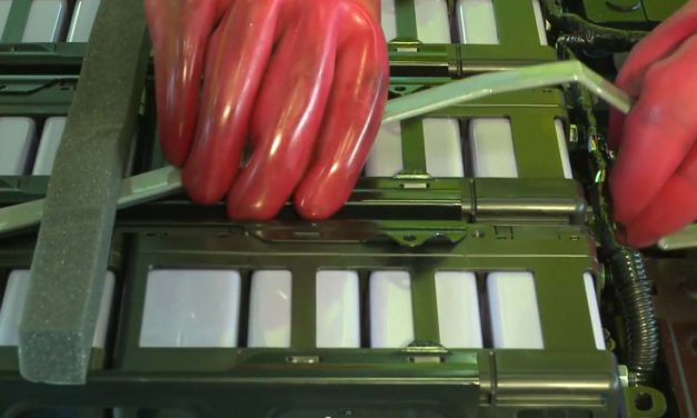 Høyenergi fremsdriftsbatterier – slik behandles batteriene etter bruk.