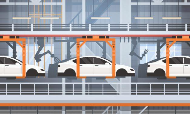 Global bilproduksjon økte med 2,9 prosent i andre kvartal