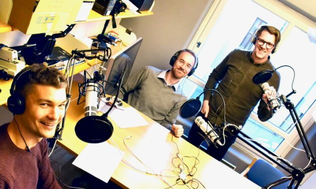 Ny podcast: «Du skal kjøre mye»