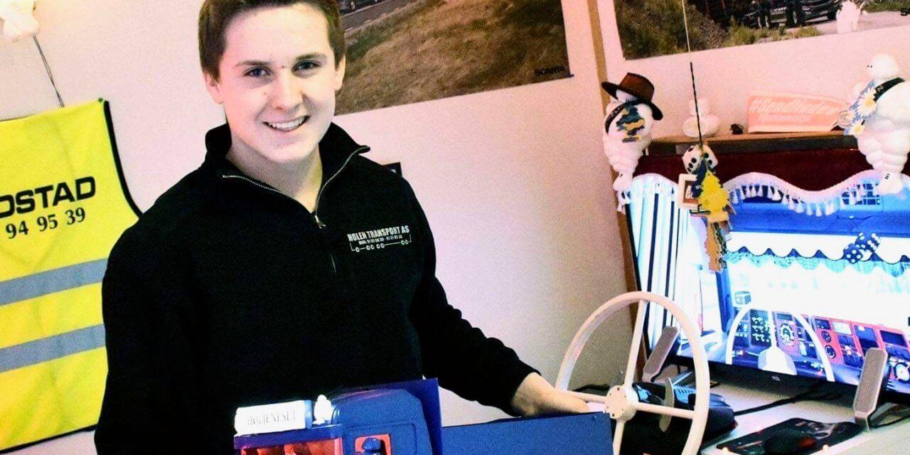 Hein (15) eier sin egen lastebil