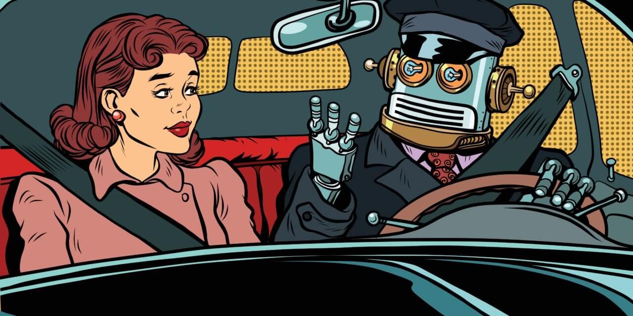 Selvkjørende «robotaxi» – like om hjørnet?