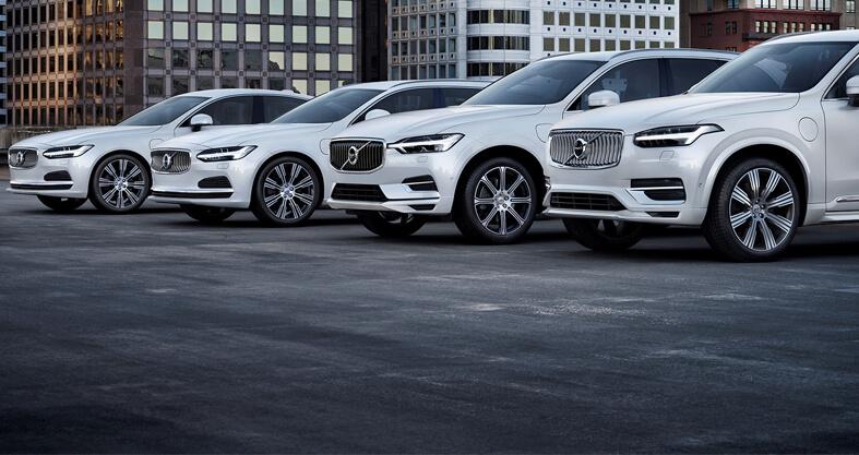 Volvo på vei mot en helelektrisk fremtid – VOLVO